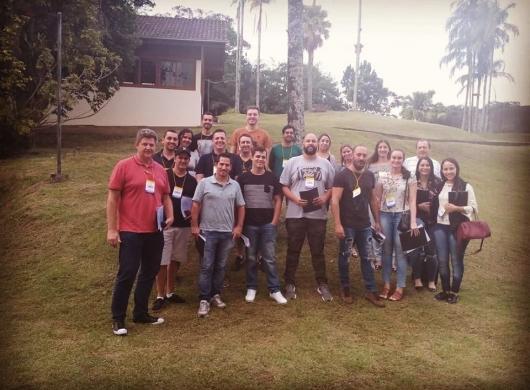 Foto da turma que participou do curso sobre P.P.C.P . em Blumenau