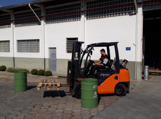 Treinamento ministrado in company na cidade de Jaraguá do sul sobre NR 11