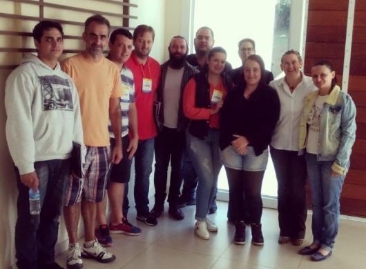 Treinamento de Desenvolvimento de Líderes ministrado no último dia 12/13 em Blumenau pela consultora