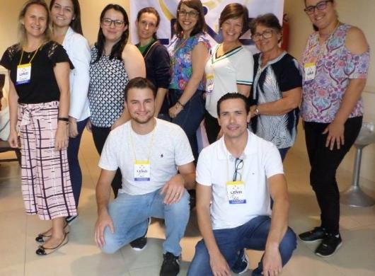 Foto dos participantes do curso sobre Etiquetagem Têxtil específico para cama, mesa e banho.